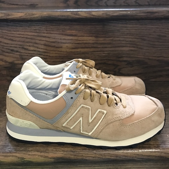 new balance ml574 champagne beige
